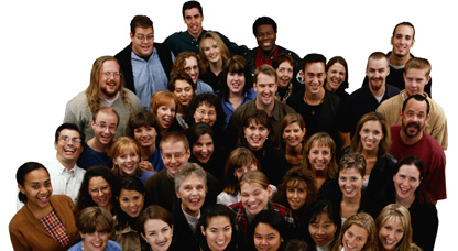 group photo of Credit Union employees